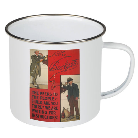 The Peers to the People Enamel Mug