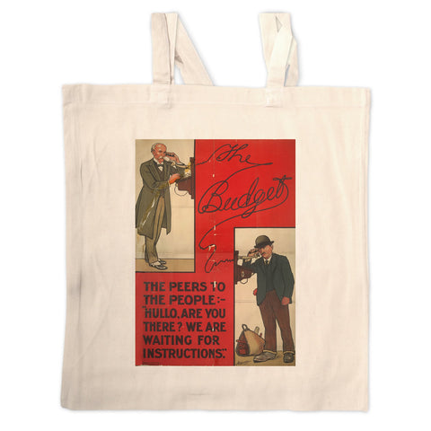 The Peers to the People Long Handled Tote Bag