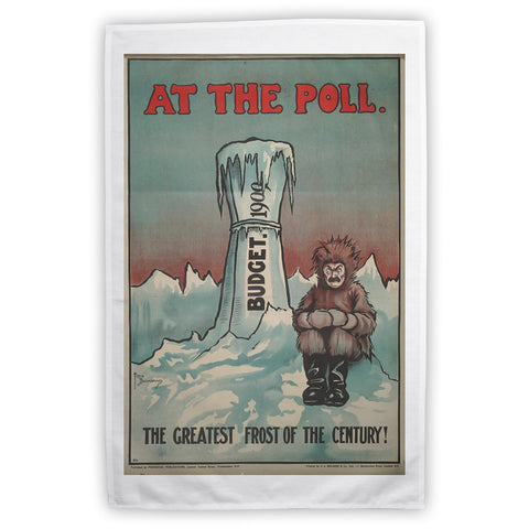 At the Poll Tea Towel