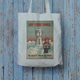 At the Poll Long Handled Tote Bag (Lifestyle)