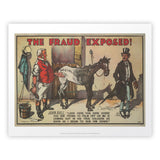 The Fraud Exposed Art Print