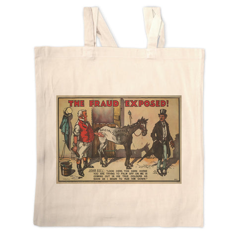 The Fraud Exposed Long Handled Tote Bag