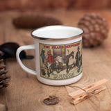 The Fraud Exposed Enamel Mug (Lifestyle)