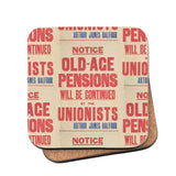 Old-age pensions will be continued by the Unionists Cork Coaster