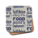 Tariff reform Cork Coaster