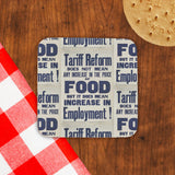 Tariff reform Cork Coaster (Lifestyle)
