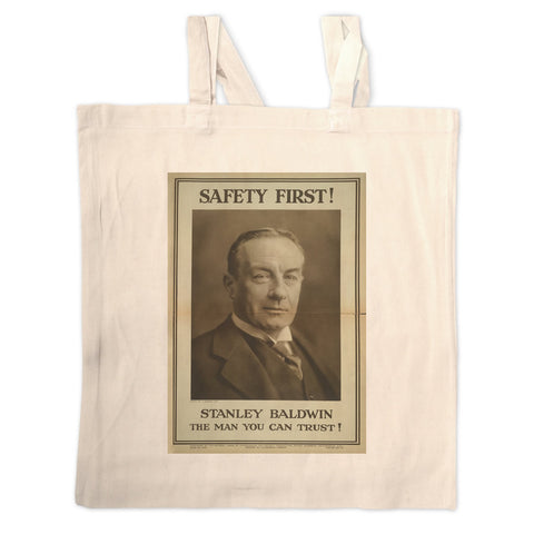 Safety first! Long Handled Tote Bag