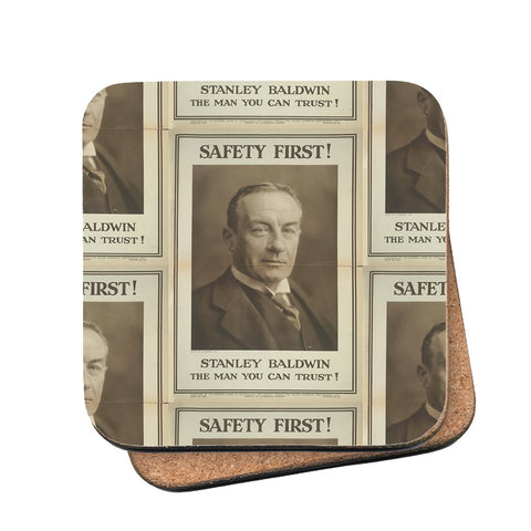 Safety first! Cork Coaster