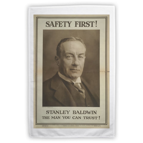 Safety first! Tea Towel
