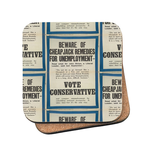 Beware of cheap jack remedies for unemployment Cork Coaster