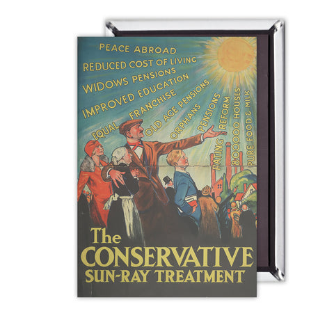 The Conservative Sun-Ray Treatment Magnet
