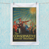 The Conservative Sun-Ray Treatment Tea Towel (Lifestyle)