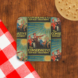 The Conservative Sun-Ray Treatment Cork Coaster (Lifestyle)