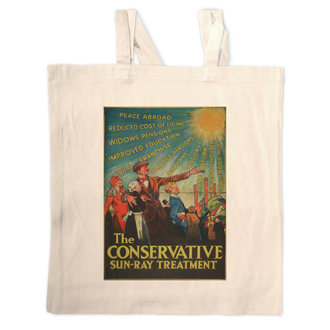 The Conservative Sun-Ray Treatment Long Handled Tote Bag