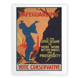 Safeguarding Art Print