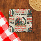 Beware of the Serpent Cork Coaster (Lifestyle)