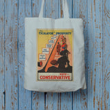 Smoke Baldwin's security mixture. Long Handled Tote Bag (Lifestyle)