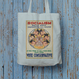 Socialism would mean inspectors all round Long Handled Tote Bag (Lifestyle)