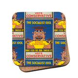 The Socialist idol Cork Coaster