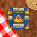 The Socialist idol Cork Coaster (Lifestyle)