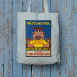 The Socialist idol Long Handled Tote Bag (Lifestyle)
