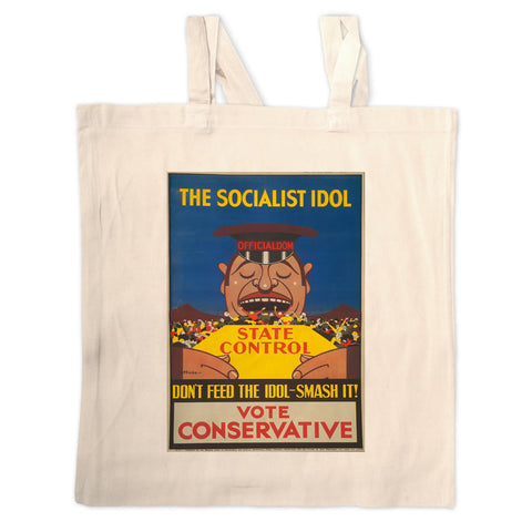 The Socialist idol Long Handled Tote Bag