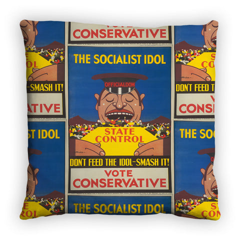 The Socialist idol Feather Cushion