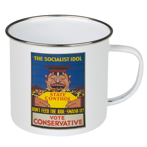 The Socialist idol Enamel Mug