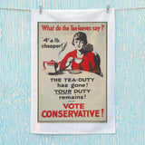 What do the tea leaves say? Tea Towel (Lifestyle)