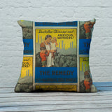 Smokeless chimneys and anxious mothers! Feather Cushion (Lifestyle)