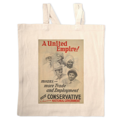A United Empire! Long Handled Tote Bag