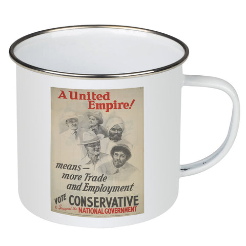 A United Empire! Enamel Mug