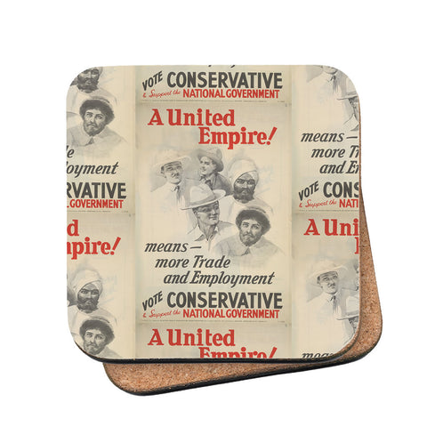 A United Empire! Cork Coaster