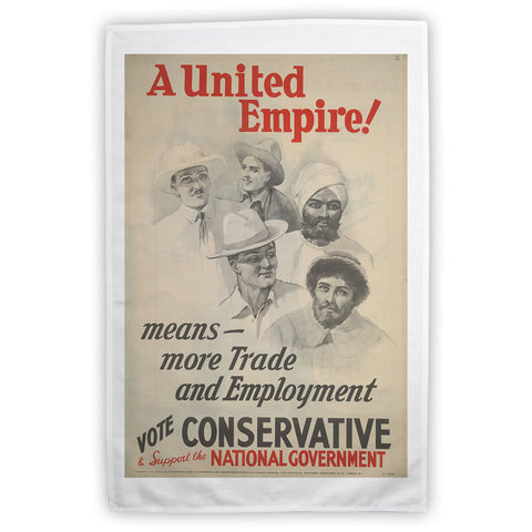 A United Empire! Tea Towel