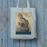 """Mates! Help me get a job!"" Long Handled Tote Bag (Lifestyle)"