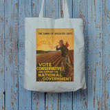 The dawn of brighter days Long Handled Tote Bag (Lifestyle)