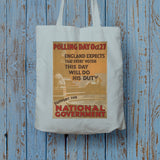 Polling day Oct.27 Long Handled Tote Bag (Lifestyle)