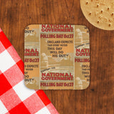Polling day Oct.27 Cork Coaster (Lifestyle)
