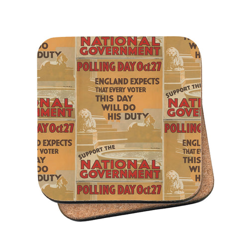 Polling day Oct.27 Cork Coaster