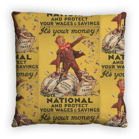 It's your money Feather Cushion