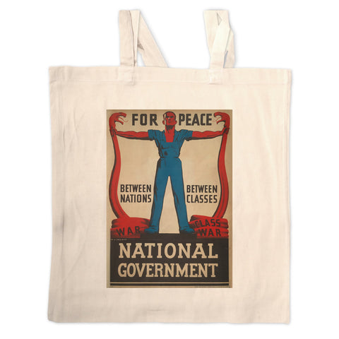 For peace between nations, between classes Long Handled Tote Bag