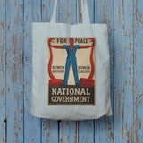 For peace between nations, between classes Long Handled Tote Bag (Lifestyle)