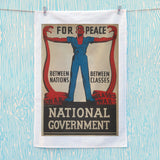 For peace between nations, between classes Tea Towel (Lifestyle)
