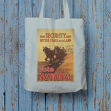 For security and better times on the land, vote National Long Handled Tote Bag (Lifestyle)