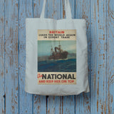 Britain leads the world again in export trade Long Handled Tote Bag (Lifestyle)