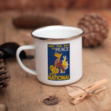 Grip the key to peace Enamel Mug (Lifestyle)