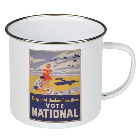 Keep that shadow from them Enamel Mug