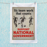 It's teamwork that counts Tea Towel (Lifestyle)