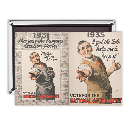 1931: This was the famous election poster Magnet