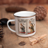 1931: This was the famous election poster Enamel Mug (Lifestyle)